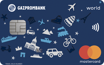 Описание карты Газпромбанка